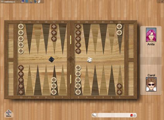 gioco backgammon gratis