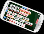 gioco Burraco online del ClubDelGioco nel cellulare
